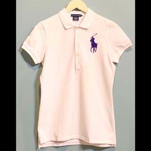 Ralph Lauren Polo Shirt Off White Medium